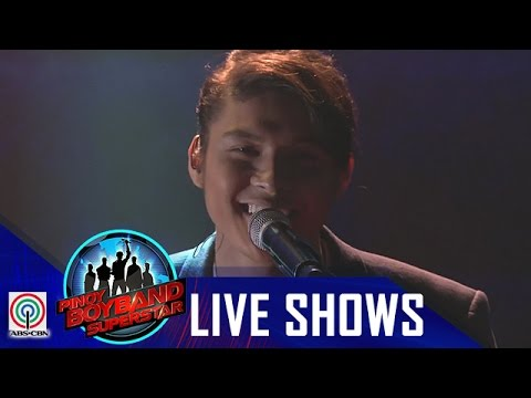 "Pinoy Boyband Superstar Last Elimination: Tristan Ramirez - ""Knocks Me Off My Feet"""
