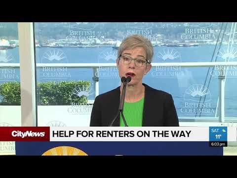 B.C. Government Says Help Is On The Way For Renters