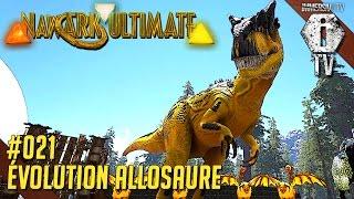 evolution allosaure   ark survival evolved fr   mod eternal   ep21