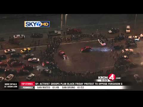 CHP Vows to Prosecute Those Who Participated or Attended Port of Oakland Sideshow