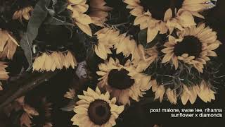 post malone, swae lee, rihanna - sunflower (mashup)