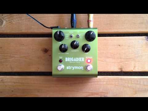 5 Minutes with the Strymon Brigadier - Pedal Demo
