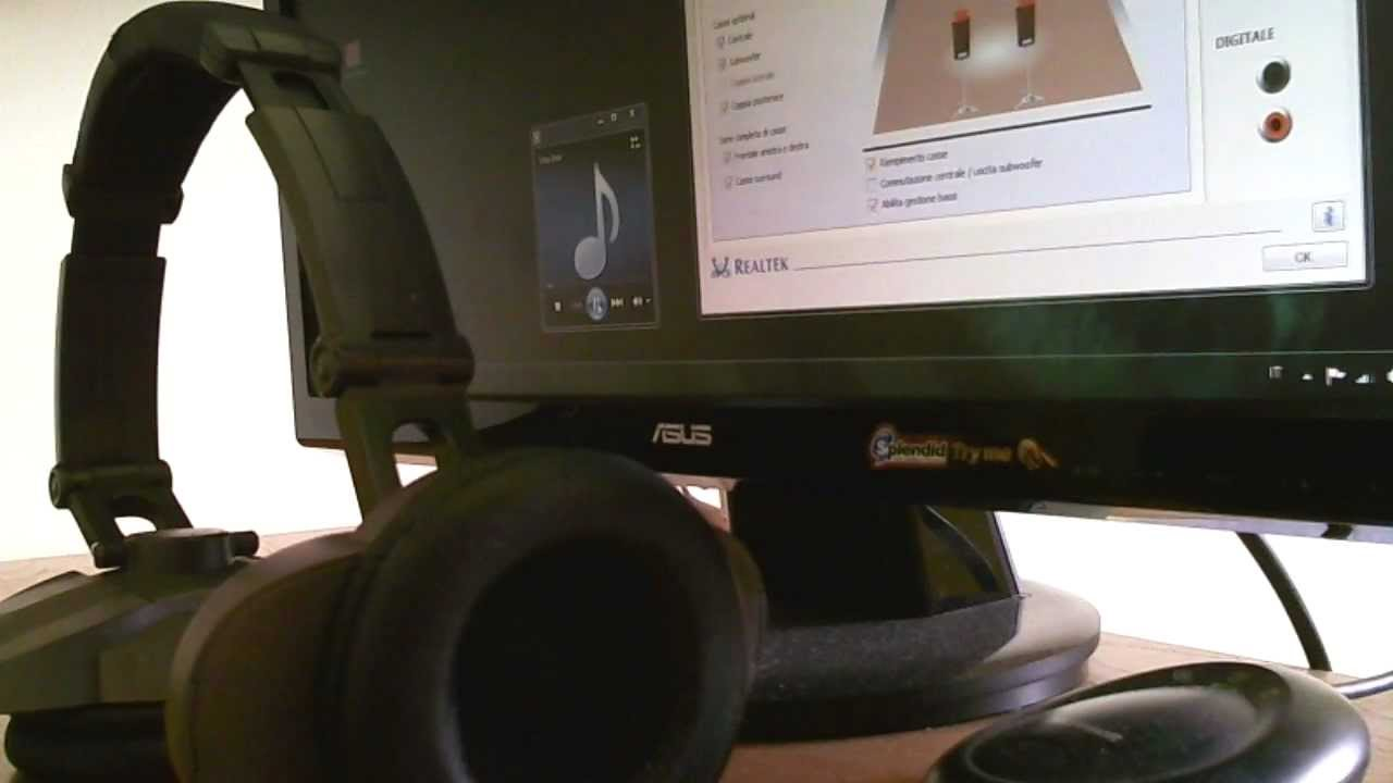 Test of Zalmans 5.1 headset with Realtek Hd Audio 7.1 improved by