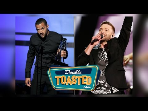 JESSE WILLIAMS BET AWARDS SPEECH/JUSTIN TIMBERLAKE TWITTER CONTROVERSY - Double Toasted Highlight