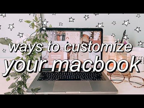 macbook organization + customization tips/tricks!  *MUST DO!!*