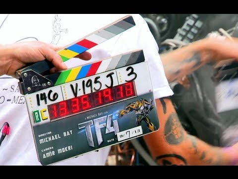 Transformers 4: Age of Extinction Official B-Roll Footage (2014) Mark Wahlberg HD