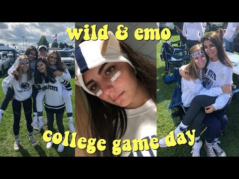 penn state college football game day vlog *WILD*
