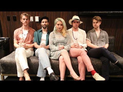Foster The People Interview - KROQ Summer Pool Party
