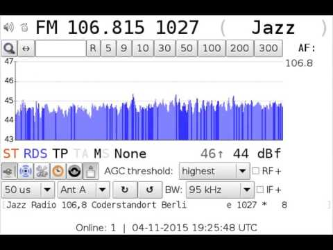 [tropo] 106.8 Jazz Radio / Berlin 443km