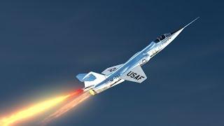 Chuck Yeager's 100,000 Foot Zoom Rocket Plane Crash