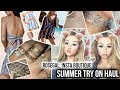 ROSEGAL SUMMER CLOTHING HAUL (+jewellery) | Instagram Boutique TRY ON Haul!!