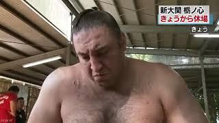 大相撲名古屋場所で、新大関 栃ノ心が右足の親指のけがのため7日目の14...