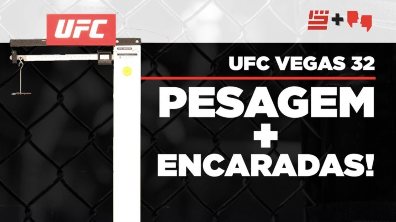 UFC Dillashaw vs Sandhagen: PESAGEM & ENCARADAS