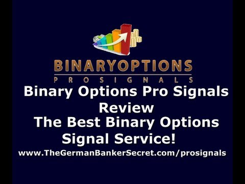 Binary options advisory service
