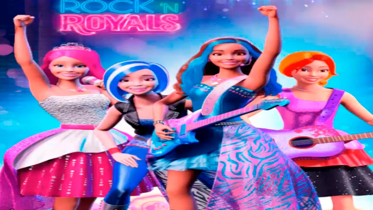 BARBIE - Barbie Rock'N Royals Superstar Beats | English Episode Full Game | (Game for Children)