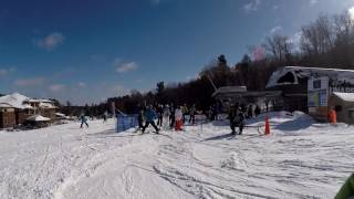 Some Fine Skiing at Mount Sunapee, NH