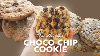 The Ultimate Chocolate Chip Cookie Recipe (Bon Appétit vs NYT Cooking vs Levain Bakery)