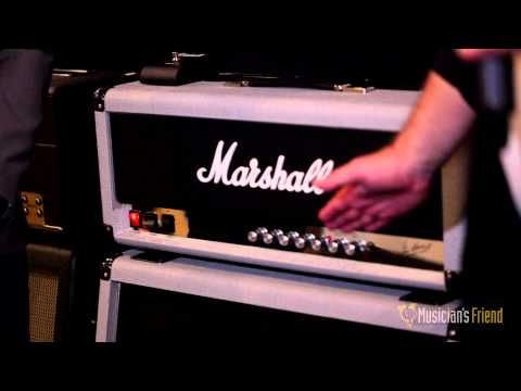 Marshall Silver Jubilee Amp Series - NAMM 2015