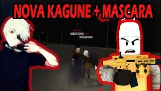 ROBLOX Ro-Ghoul: BUYING MY NEW KAGUNE and NEW MASCAR WITH NARUTO GHOUL