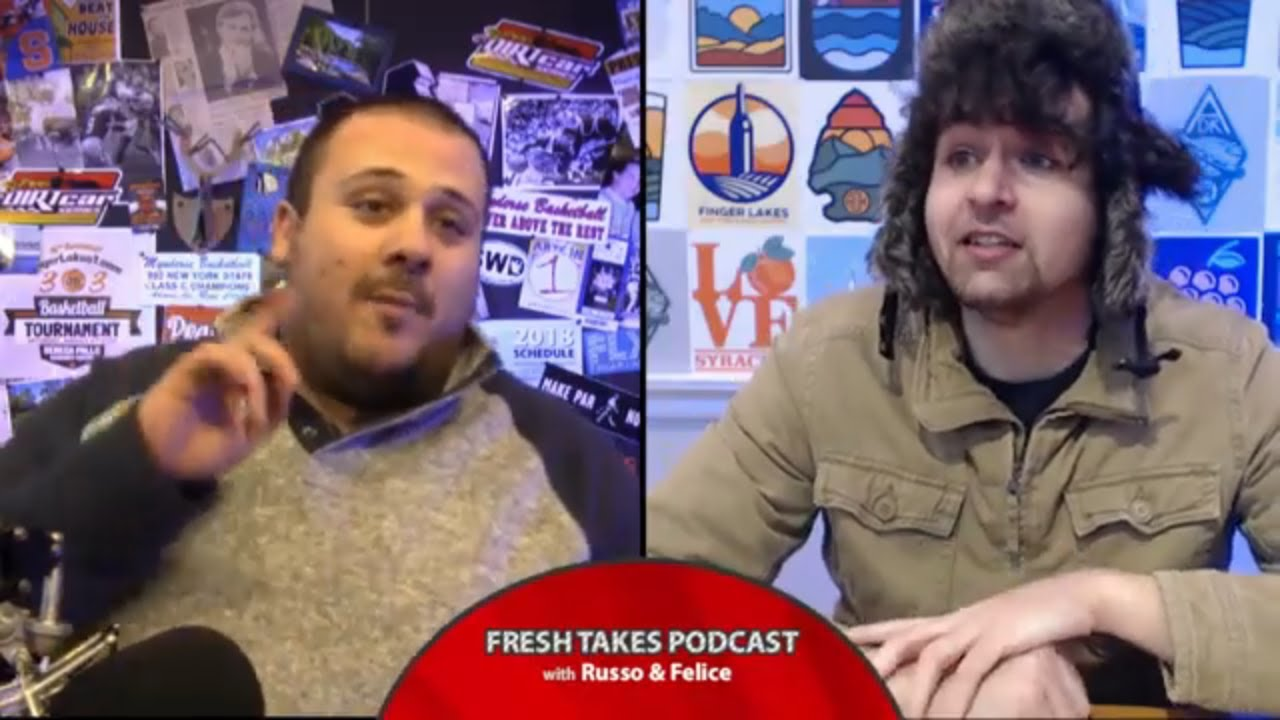 Duke-Cuse recap & Bryce Harper's impact on free agency .::. Fresh Takes w/ Russo & Felice 2/27/19