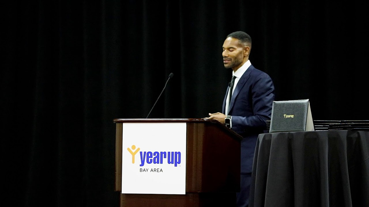 Tony Prophet Year Up Bay Area Keynote Speaker