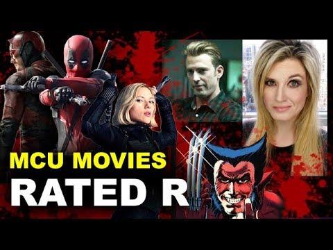 MCU Rated R Movies - Deadpool 3, Black Widow, Wolverine