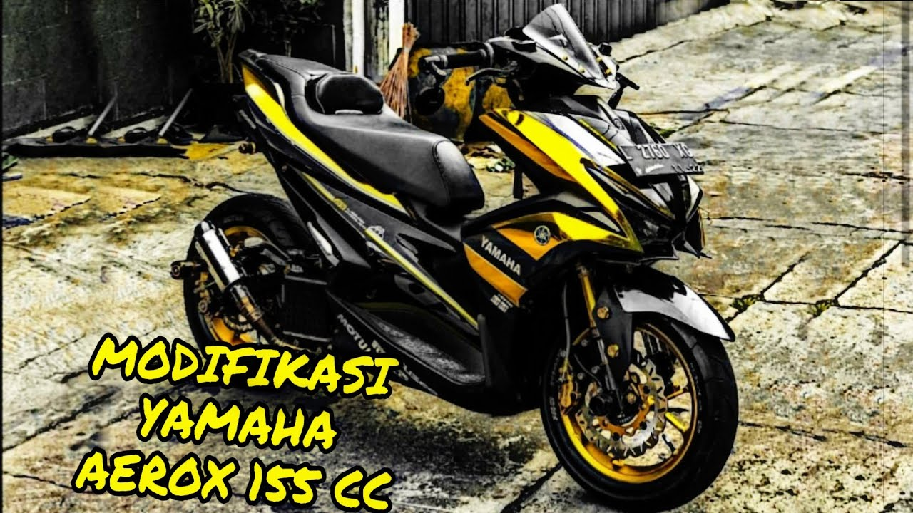 100 Gambar Modifikasi Motor Aerox 155 Kuning Terbaru