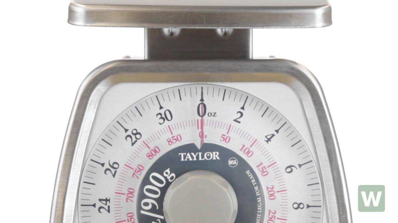 Taylor TS32 32 Oz. Mechanical Scale