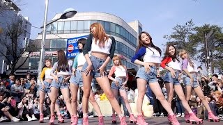 160402  OH MY GIRL    One Step Two Steps   Fancam  by Mera