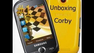 Samsung Genio Touch S3653 Corby Unboxing\u0026Prewiev 720p HD