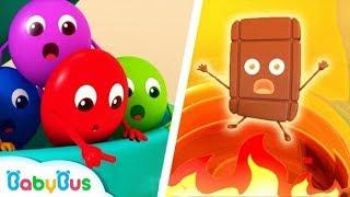 Biệt đội giải cứu kẹo cầu vồng | Thanh sô cô la gặp nạn | Hoạt hình thiếu nhi vui nhộn | BabyBus