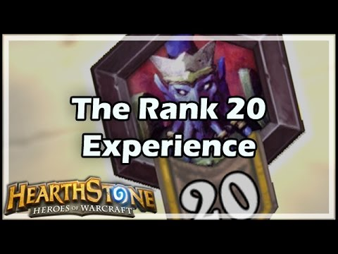 [Hearthstone] The Rank 20 Experience