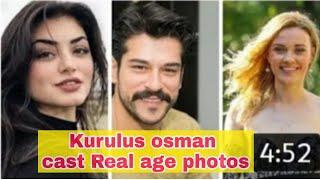 KURULUS OSMAN CAST REAL LIFE PARTNER /BURAK OZÇIVIT. GIRL FRIENDS AND FAMILY. BIOGRAPHY SEASON 2