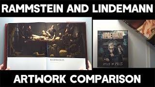 Rammstein and Lindemann artwork comparison
