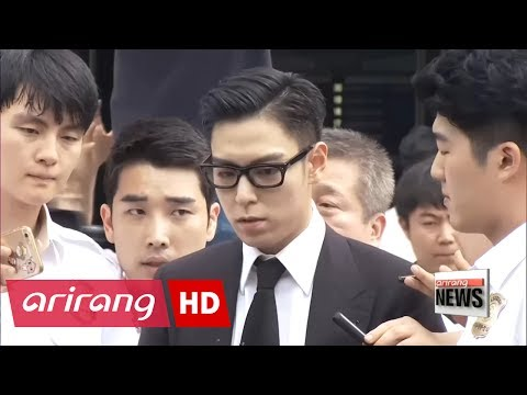 K-Pop star T.O.P gets suspended sentence for marijuana use
