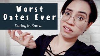 Dating in Korea | Worst Dates Ever | Puerto Rican in Korea