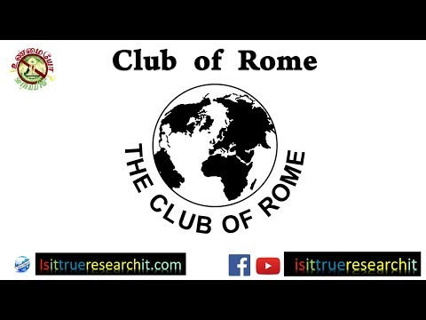 Club of Rome | Illuminati in Tamil