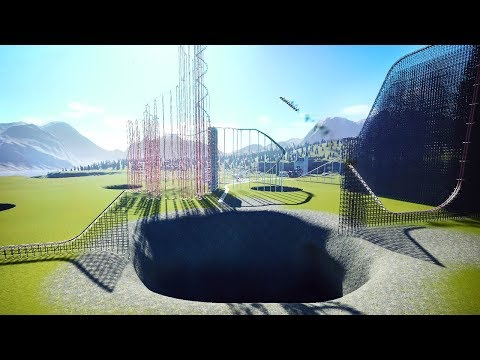 I Used Holes in Unexpected Ways To Build The Most Dangerous Roller Coasters in Planet Coaster |