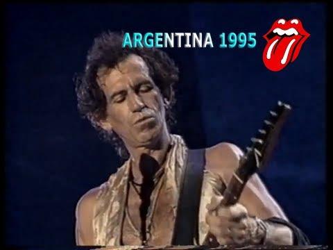 Keith Richards - Slipping away (Subtitulado) Estadio River Plate 1995