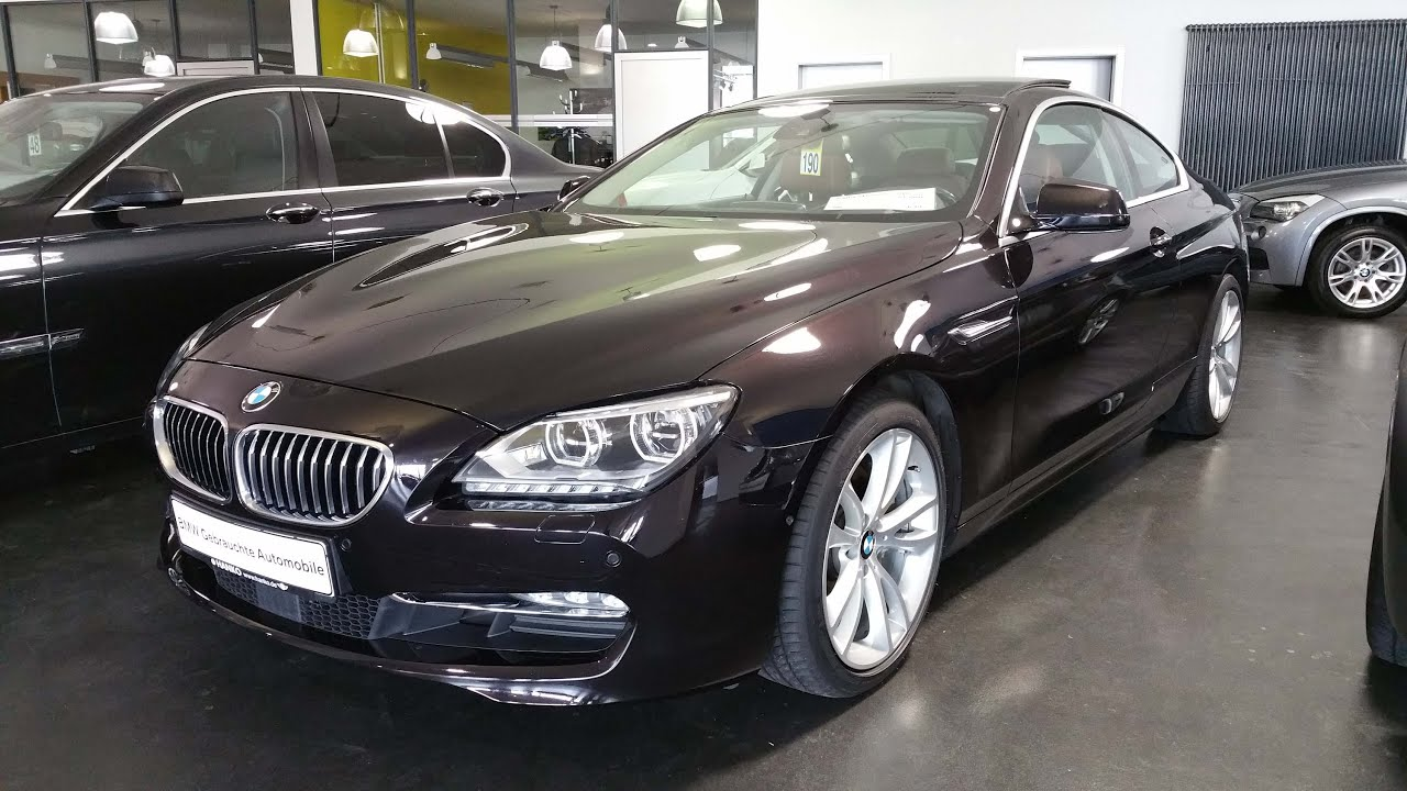 2012 Bmw 640d Xdrive Coup 233 Bmw View Youtube