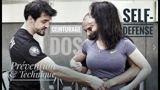 Tuto de Self-Defense avec Céline Tran - Les saisies de corps#1 - Ceinturage