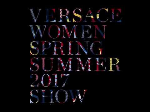 Versace Womenswear Spring Summer 2017 Show Invite