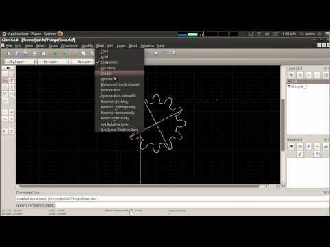 Creating Gears in OpenSCAD