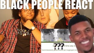 BLACK PEOPLE WATCH K-POP(BTS - PARADISE)