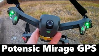 Potensic Mirage D50 Flight & Camera Test GPS DRONE RC QUADCOPTER