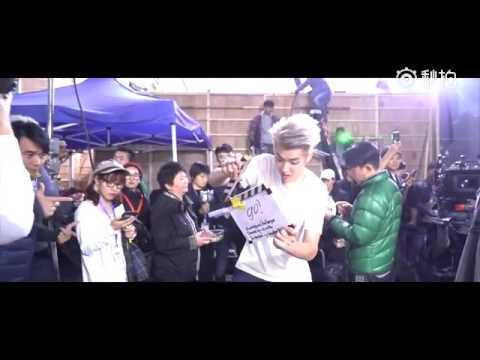 Kris Wu does the Mannequin Challenge with Tony Leung, Tiffany Tang, Europe Raiders crew
