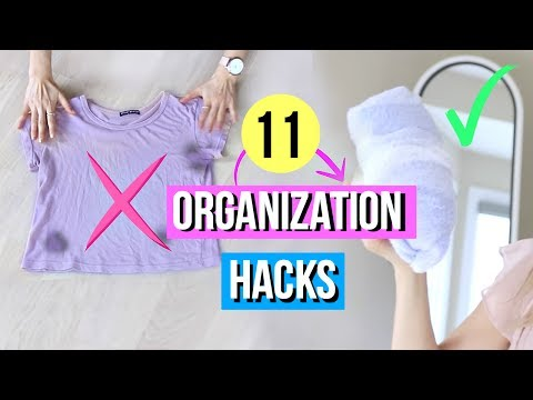 11 Clothing Hacks for Organization EVERY Girl Must Know!