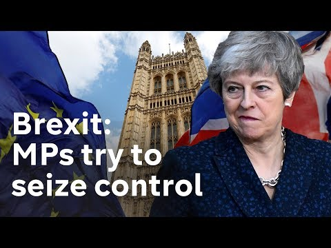 MPs debate taking control of Brexit LIVE