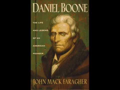 JACK BARLOW: Daniel Boone (from Billy Edd Wheeler's 'Cumberland Gap' - 1978)