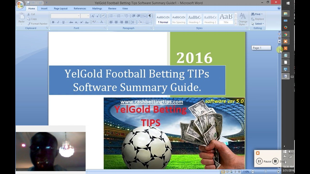 How to Make/Earn Money/Cash from Football/Sports without Betting